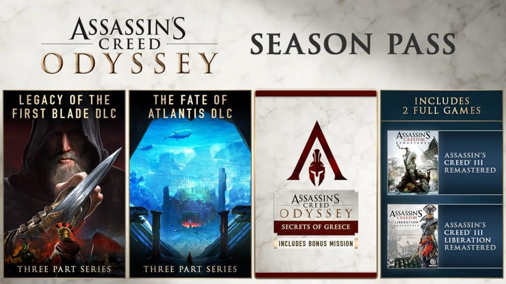 Assassin's Creed Odyssey Game - Season Pass Content