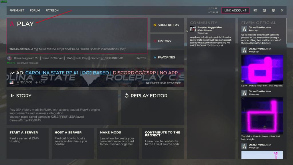 GTA V RP Server 1